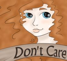 Merida's hair doesn't care Sticker
