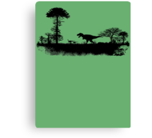 T-Rex on the hunt.. Canvas Print