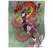 Warrior Mulan Poster