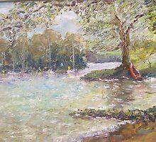 Lake Windermere by Raymond  Hedley