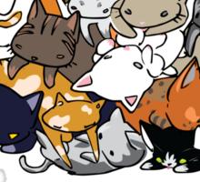Ailurophile = Cat Lover Sticker