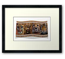 Big Cats Framed Print