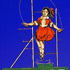 skipping girl viniger by Neil Mouat