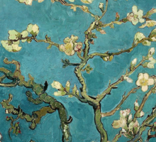 Vincent van Gogh, Blossoming Almond Tree Sticker