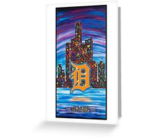 Detroit the Motor City Greeting Card