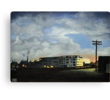 Urban Construction Canvas Print