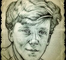 Anthony Michael Hall drawing by RobCrandall