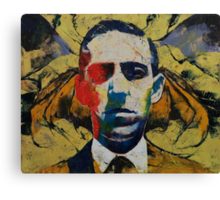 Lovecraft Canvas Print