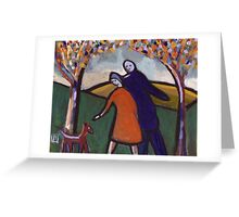 Love me love my dog Greeting Card