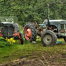 Old Tractor by WhartonWizard