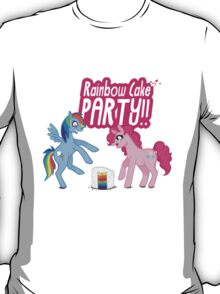 RAINBOW CAKE PARTY!! T-Shirt