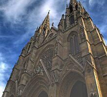 Sainte-Clotilde basilica in Paris by jean-louis bouzou