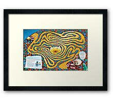 Rafting the Crystal River Maze Framed Print