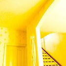 Home sweet home, yellow by Kornrawiee