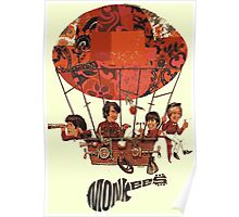 Monkees Air Balloon Poster