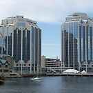 Purdy's Wharf Towers by Glenn Esau