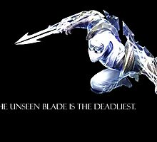 Shockblade Zed The unseen blade is the deadliest. (black) by SohnDesOdysseus