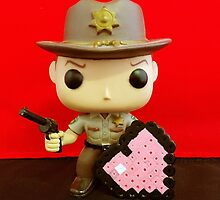 Rick Grimes Valentines by FendekNaughton