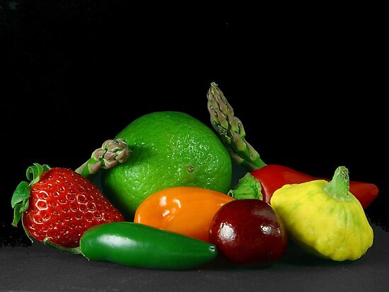 Fruit & Veg by Sharon Stevens