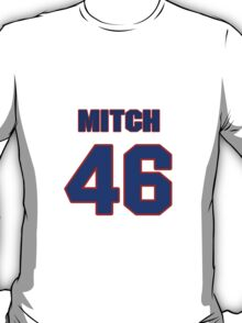 National football player Mitch Jacoby jersey 46 T-Shirt