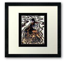 Crude Legacy Framed Print