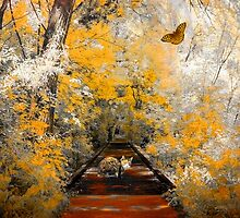 The Pathway To Autumn by digitalmidge