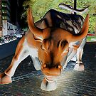charging bull by dc witmer