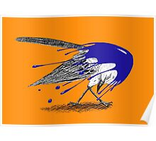 Inked mockingbird Poster