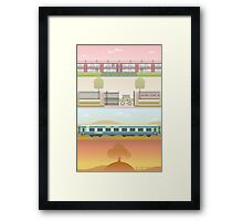 A 'Wes Anderson' Collection Poster Print 2 Framed Print