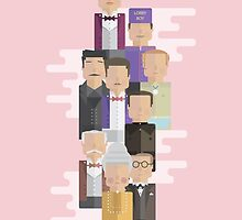 The Grand Budapest Hotel: Character Print by George Townley