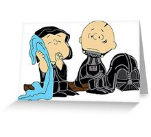 Peanuts Star Wars Greeting Card
