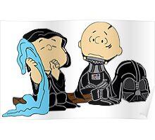 Peanuts Star Wars Poster