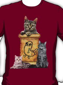 Dickbutt and catz T-Shirt