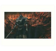 Gwyn. Lord of Cinder Art Print