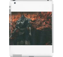 Gwyn. Lord of Cinder iPad Case/Skin