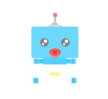 Control Me BooBeep the Blue Baby Robot ! by poochu