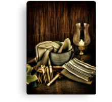 Dolly Pegs Canvas Print