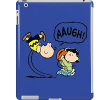 Charlie Brown and Lucy iPad Case/Skin