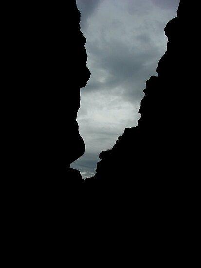 Spooky Sea Stack Shadows by Martice