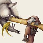 Koala Platypus by Nina Rycroft