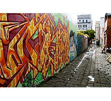 colour the lane Photographic Print