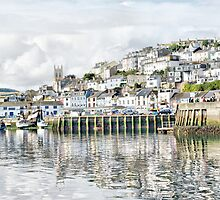 Portrait of Brixham by Catherine Hamilton-Veal  ©