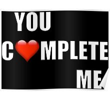 You Complete Me (HIS of His and Hers) Poster