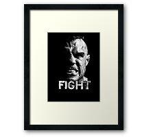 Fight Framed Print