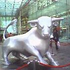 the bull at the bullring by jan01125679