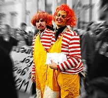 clowns by Filiz A