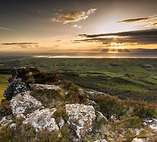 Sunset from Binevenagh by Nigel R Bell