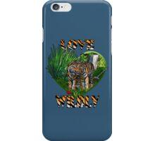 LOVE WILDLY iPhone Case/Skin