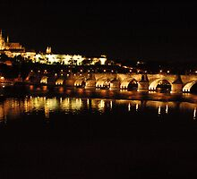 Prague at Night 2 by Stan Daniels