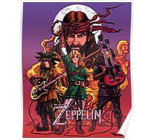 The Legend of Zeppelin Poster